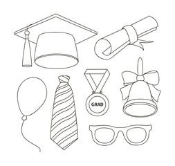 Graduation elements set