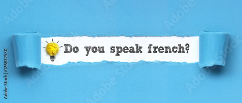 how to say do u speak french in french