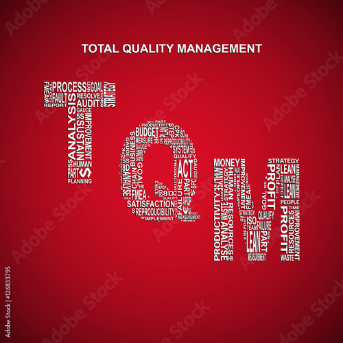 a background to total quality management 1-5 13 what is total quality management total quality management (tqm) is the term given to the federal government's organization-wide effort of continuous process improvement.