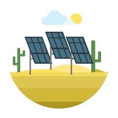 Energy source vector icon.