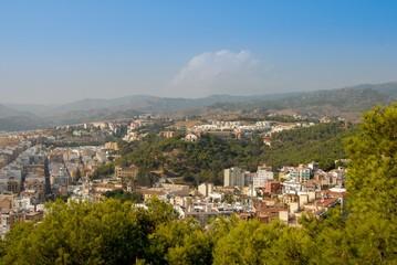 Widok na Malagę
