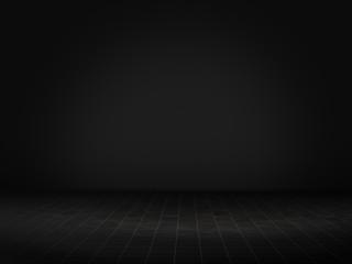 Product showcase spotlight background.3D rendering