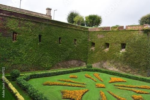 Jardines castillo de montjuic barcelona stok g rseller ve telifsiz g rseller 39 da - Jardines de montjuic ...