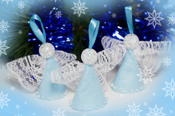 christmas decoration-handmade  angels