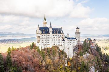 Foto auf Acrylglas Schloss schloss neuschwanstein
