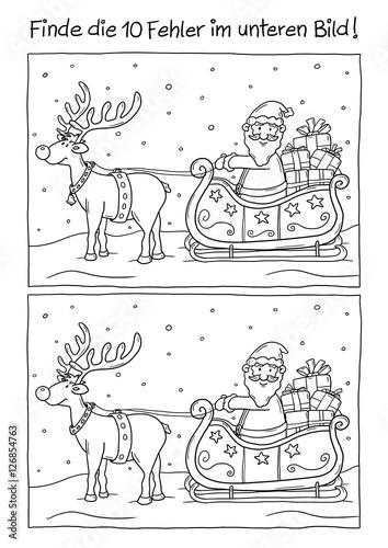 Ausmalbild Weihnachten\