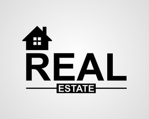 real estate, house, font