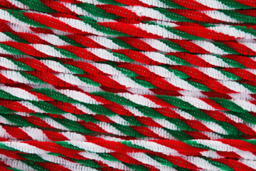 Candy cane pipes Christmas background