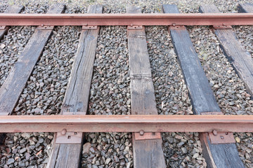 Detail of Railroad Track