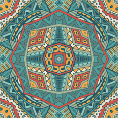 abstract ethnic indian seamless pattern tribal