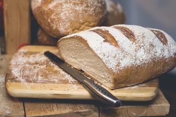 Polish traditional sourdough bread
