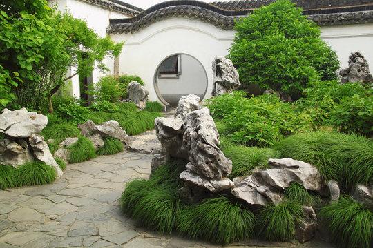 "Beutiful ""Master of the Nets Garden"" chinese garden in Suzhou"