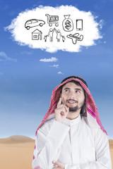 Arabian imagines his dream