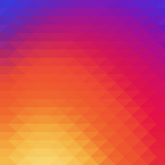 Colorful mosaic low polygon Background Wallpaper. Vector illustr