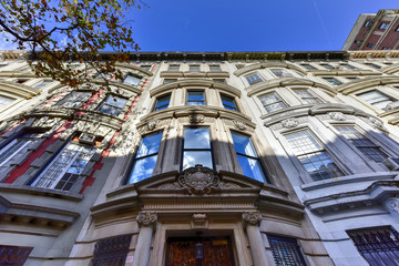 Brownstone Houses of New York City