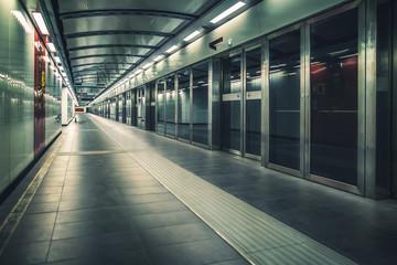 Metro train station