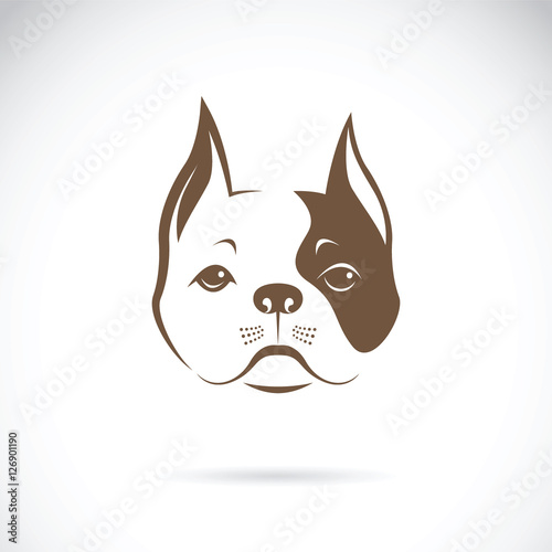 Dog face logo