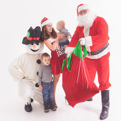 Your father is Santa. Gives gift boxes at Christmas