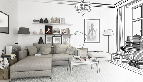 Wohnzimmereinrichtung zeichnung for Wohnzimmereinrichtung 2016