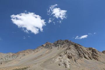 Himalaya mountains, India's Deadliest, very treacherous and adventurous roads, Kargil-Leh Highway passes through here.