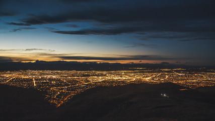 Christchurch Nightscape Fototapete