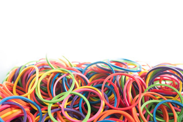 Plastic band , Rubber band