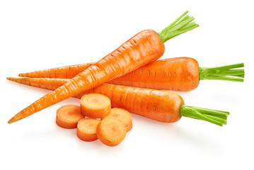 carrots fresh carrots isolated
