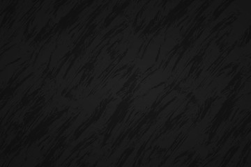 Black abstract background with dark streaks, vector illustration