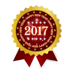 メダル フレーム アイコン 新年