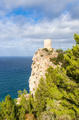 Verteidigungsturm an der Küste von Mallorca, Torre de ses Animes