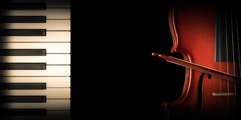 Concert for piano and violin - Concerto per pianoforte e violino