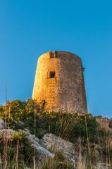 Verteidigungsturm an der Küste von Mallorca, Cap Formentor