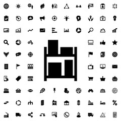storage icon illustration