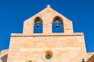 Wall Mural - Kirche auf dem Castell de Capdepera auf Mallorca