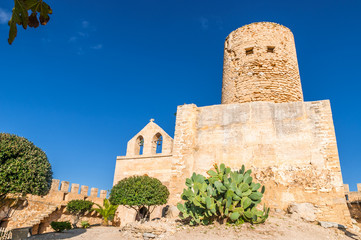 Wall Mural - Das Castell de Capdepera auf Mallorca