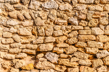 historische Steinmauer