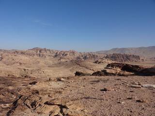 Jordanie : désert de pierre