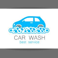 car_wash_logo_template