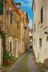 Alghero old town, Sardinia, Italy