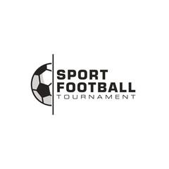 Soccer logo design vector