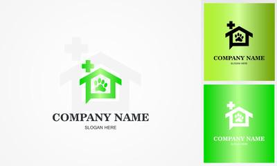 home pet medical logo