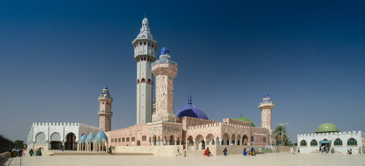Touba Mosque, center of Mouridism and Cheikh Amadou Bamba burial place, Senegal