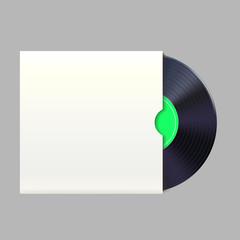 vinyl record in pack