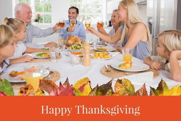 Happy Family and Thanksgiving Message