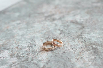 Wedding details - wedding rings