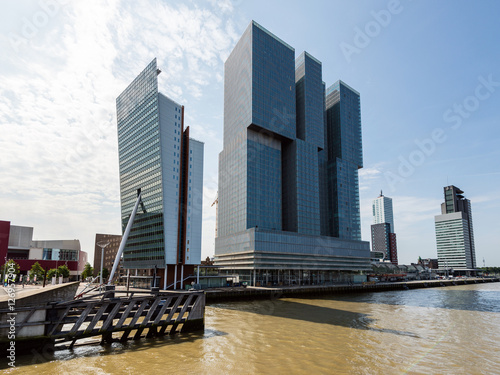 Moderne architektur in rotterdam holland stock photo - Architektur rotterdam ...