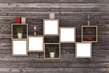 3D Picture Frame Design. Perfect for your presentations.
