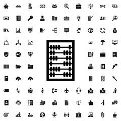 abacus icon illustration