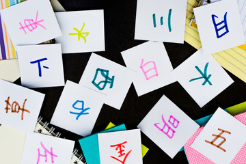 Chinese and Japanese; Learning Language with Handwritten Alphabe