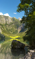 Lake of Obersee, Bertechsgaden, Germany